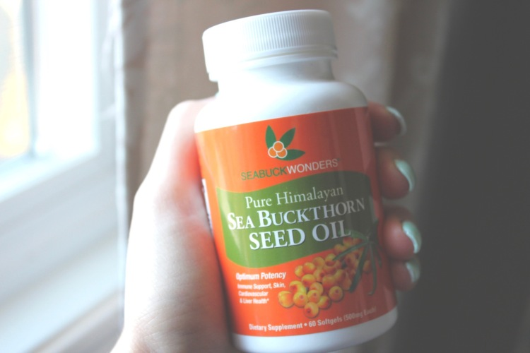 Skincare Routine with Sea buckthorn Oil