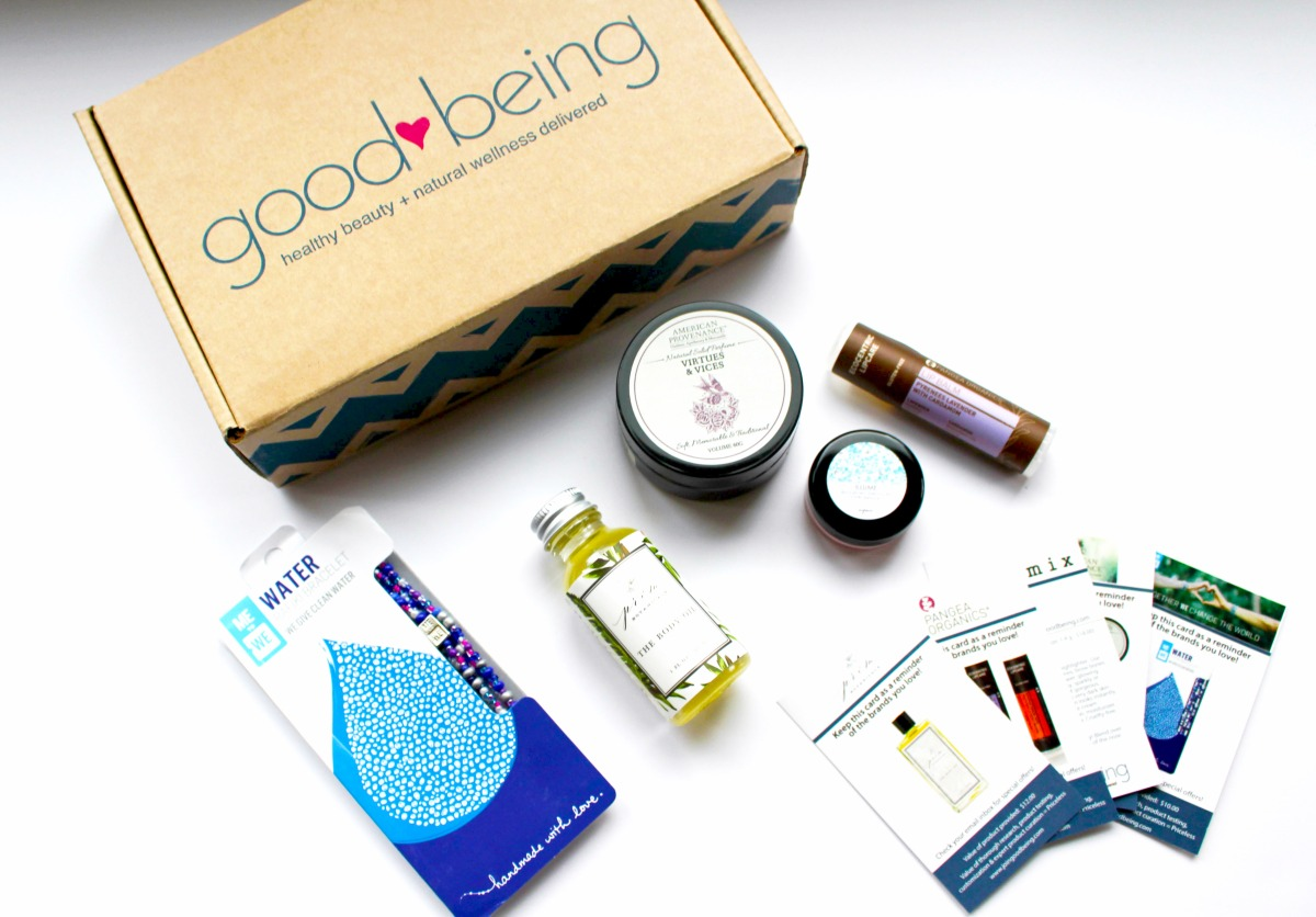 goodbeing- natural beauty subscription box- review